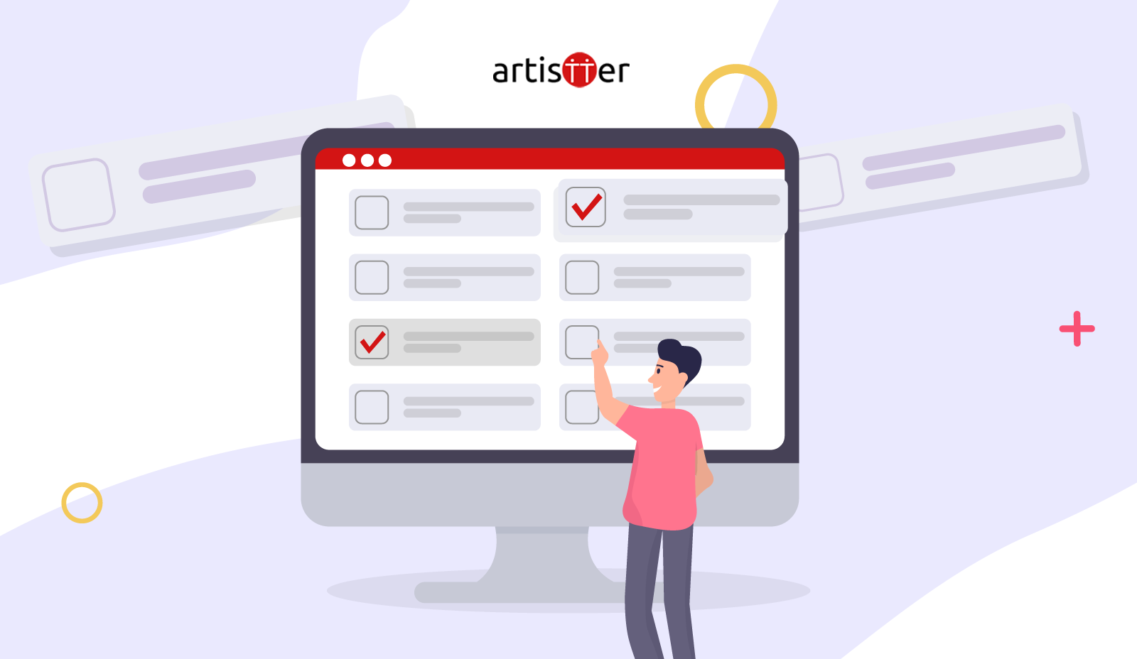 How to create the listings in a Store on Artistter