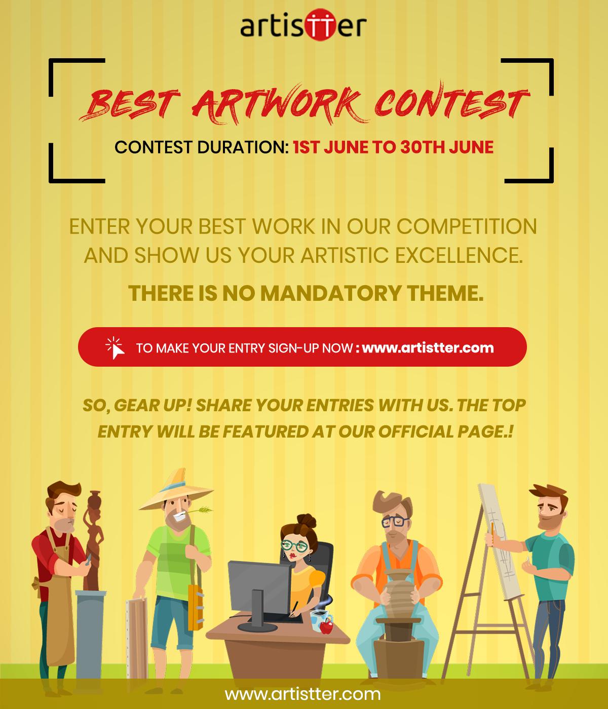 Artistter Best Artwork Contest