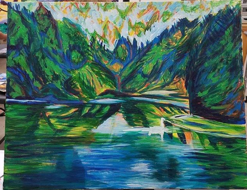 Expressionistic Painting