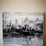 Canvas acrylic