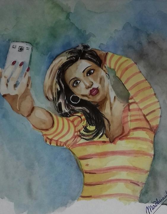 Selfi girl
