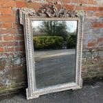 Antique French Mirror, Decorative Antique Mirrors, Large French Mirror: Cleall Antiques, West Sussex, UK
