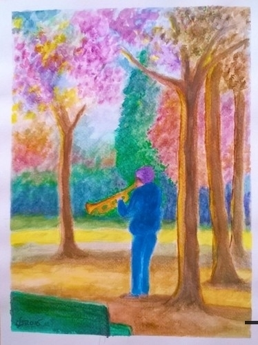 lo sconosciuto che suonava agli alberi