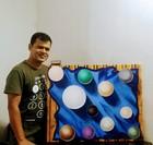 Mihir Bagchi painting