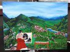Korean-Romanian paintings